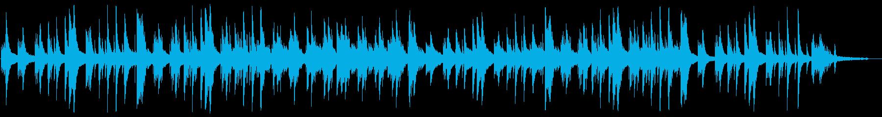 切ないピアノのチルアウト、Lofiの再生済みの波形
