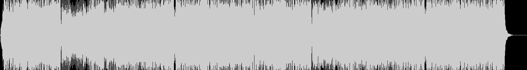 軽快でPOPなインストの未再生の波形