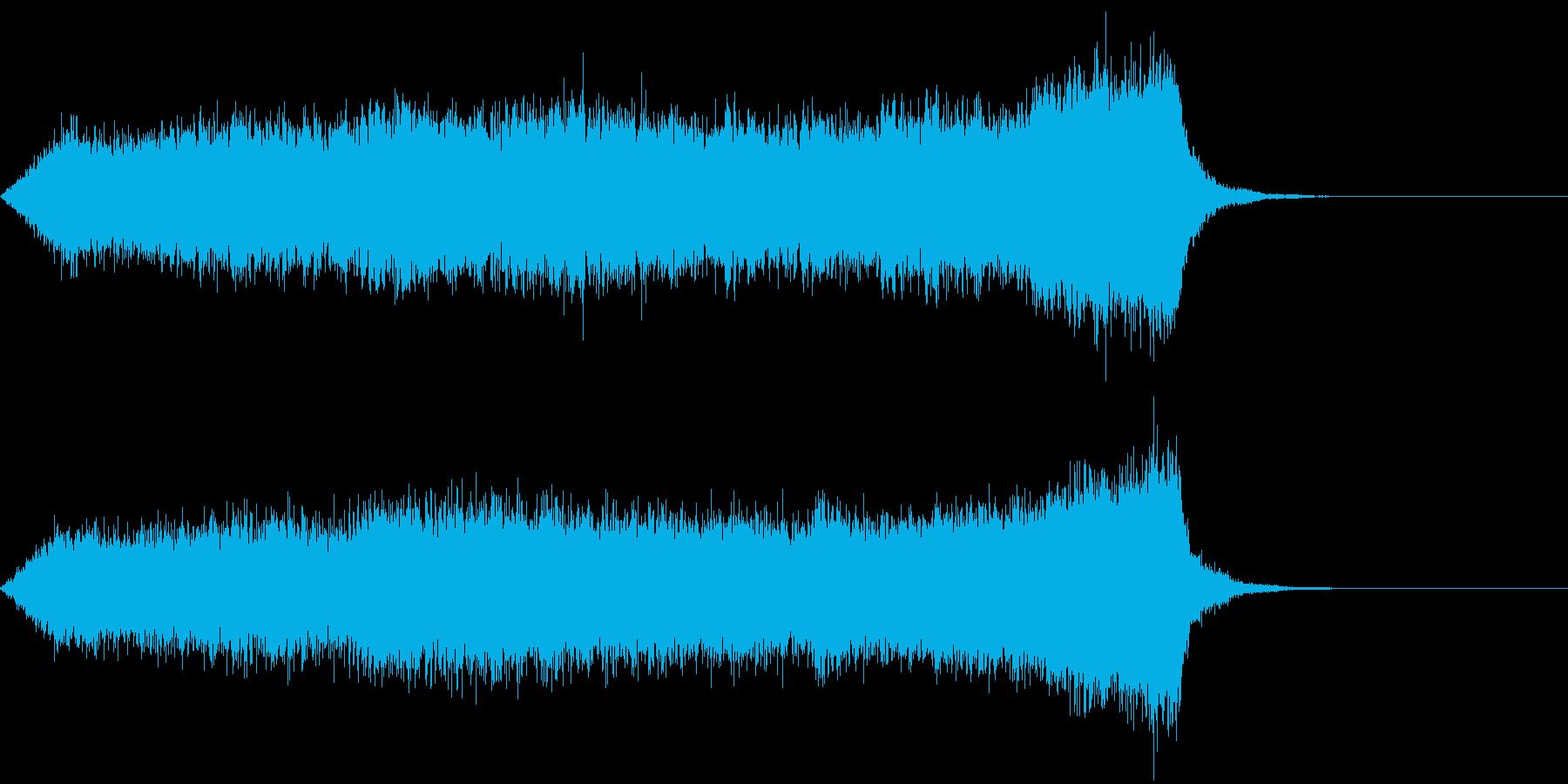 CINEMATIC RISER_03の再生済みの波形