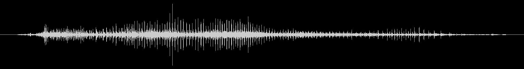 ジップダウン、スロー、ジッパーの未再生の波形