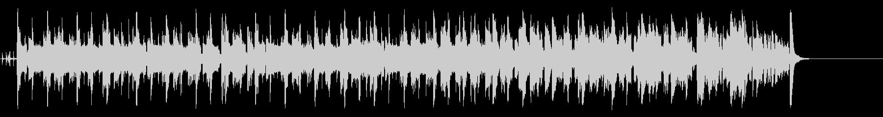 コミカルなほのぼのポップ(A~サビ~…)の未再生の波形