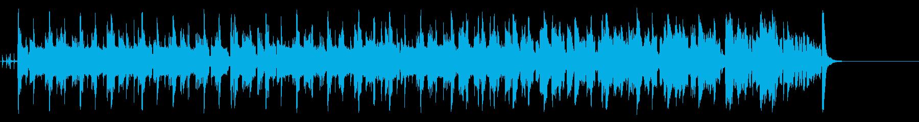 コミカルなほのぼのポップ(A~サビ~…)の再生済みの波形