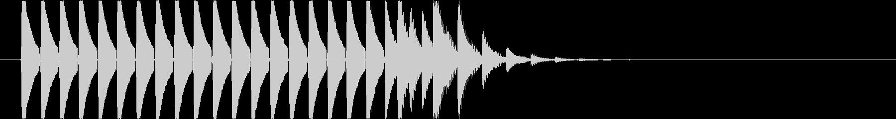 【ピピピピ】スコア カウント 経験値の未再生の波形