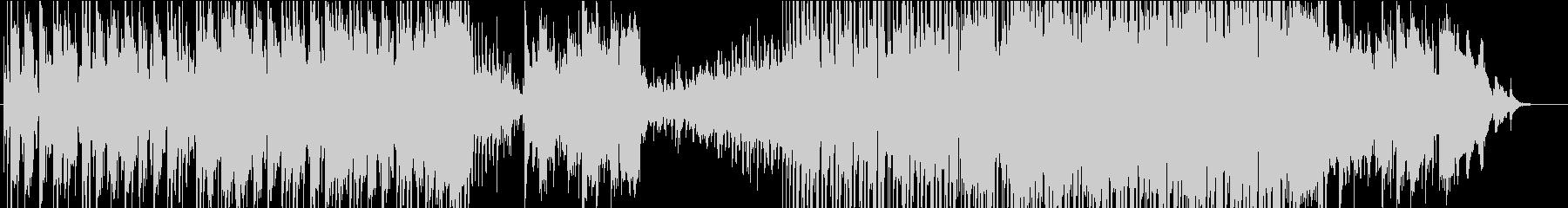 尺八を中心とした幻想的な和風BGMの未再生の波形