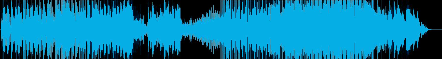 尺八を中心とした幻想的な和風BGMの再生済みの波形