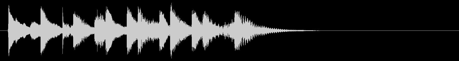 ほのぼのちゃん♪ちゃんマリンバ三重奏の未再生の波形