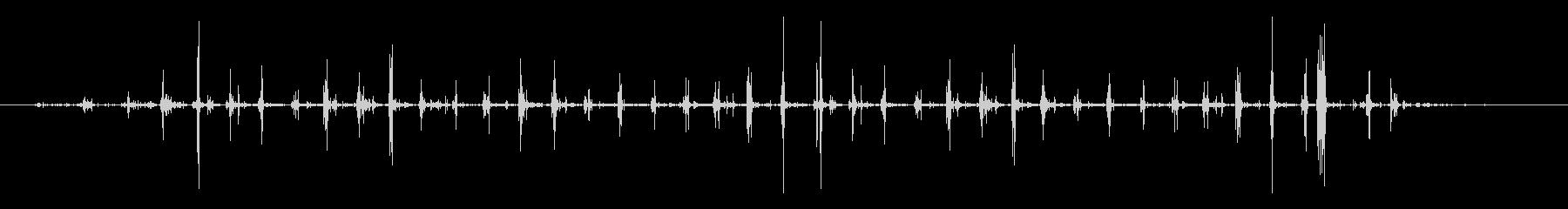 フットステプス、素晴らしく、速い;...の未再生の波形