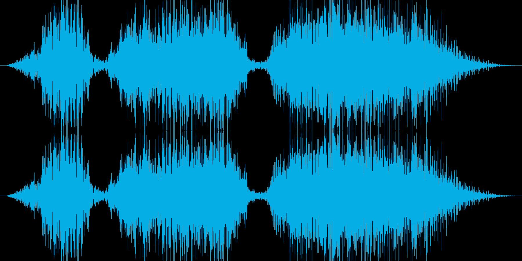 よっちょれよっちょれ!(男) 和風掛け声の再生済みの波形