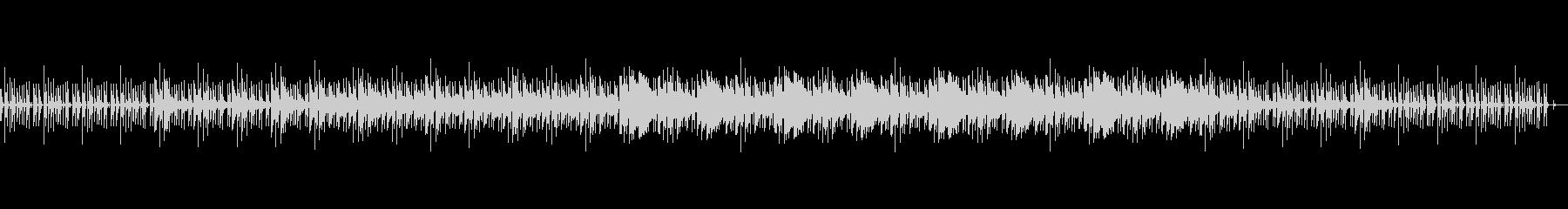ラウンジ・ミュージックを意識したBGMの未再生の波形
