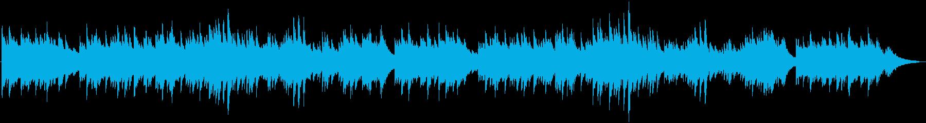 ピアノ生演奏/朝日・紀行・自然・キラキラの再生済みの波形