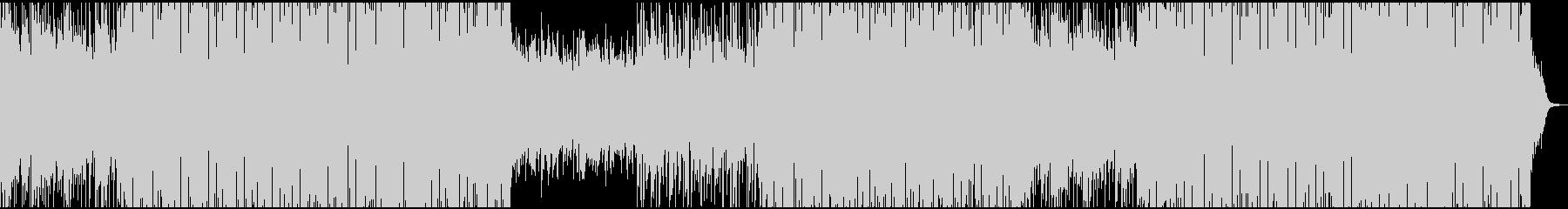 このサウンドトラックは、有益な電子...の未再生の波形
