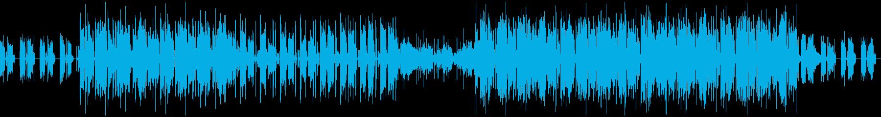 可愛く、優しい雰囲気のLo-fi系BGMの再生済みの波形