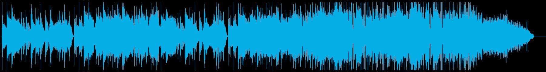 かっこいいファンクの再生済みの波形