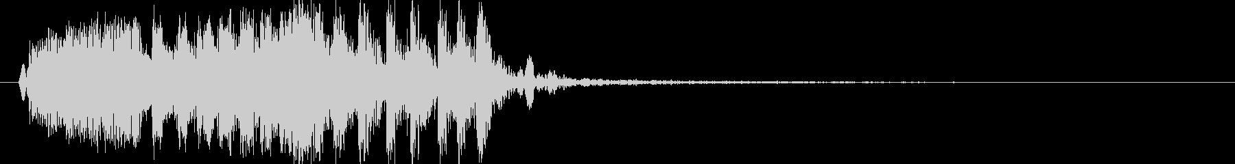 モンスターの鳴き声(鳥系1)の未再生の波形
