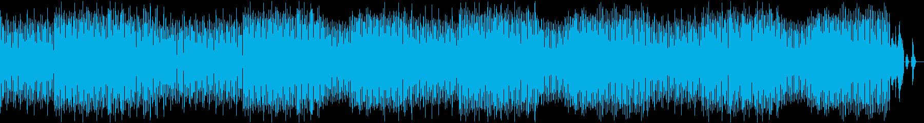 出だしのキックとベースの音がいい曲の再生済みの波形