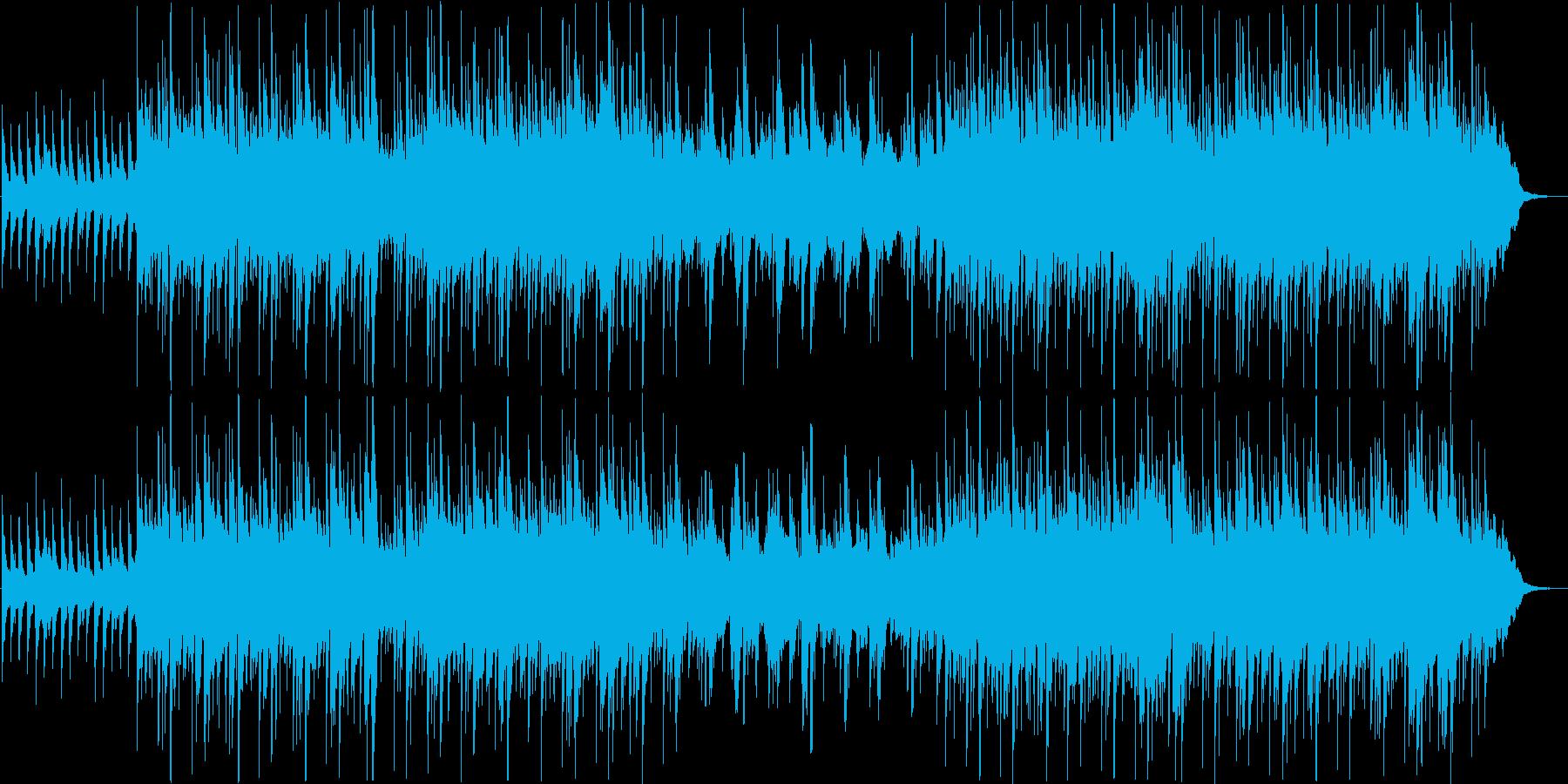 柔らかく可愛らしいシンプルサウンドの再生済みの波形