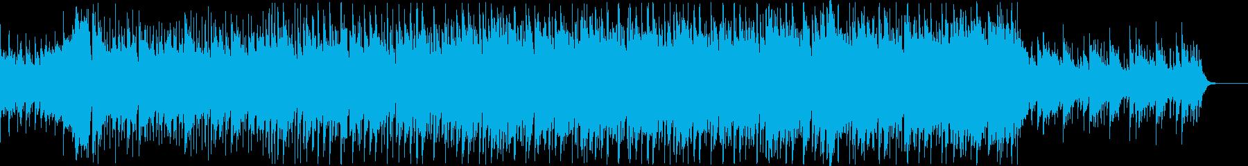 爽やか透明感ピアノフルートコーポレートBの再生済みの波形
