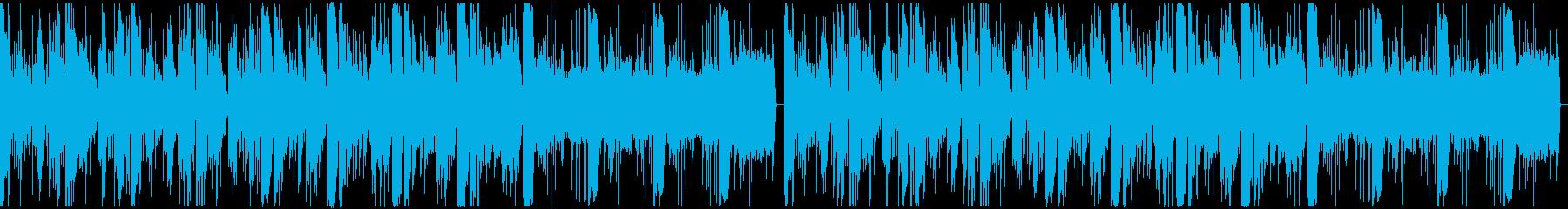 可愛くて怪しげなエレクトロBGMの再生済みの波形