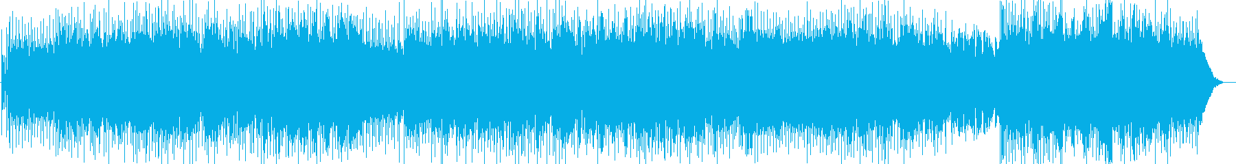 80年代ビートロック前向きな歌詞 疾走感の再生済みの波形