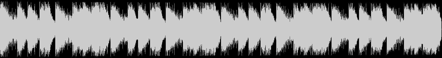 切ないゆったり系トラップビート16小節の未再生の波形