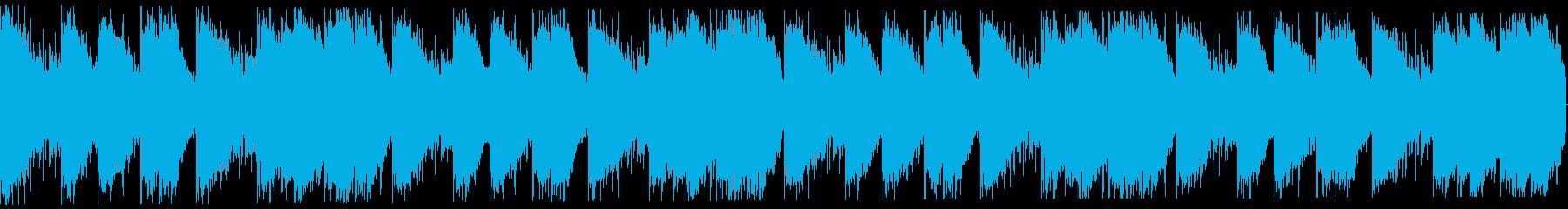 切ないゆったり系トラップビート16小節の再生済みの波形