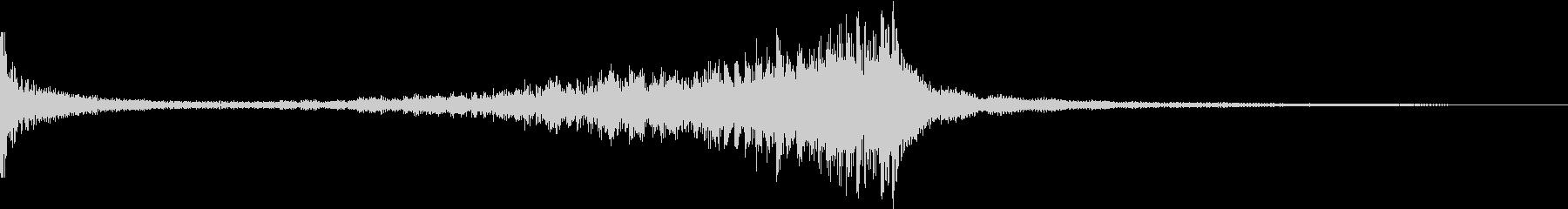 ティンパニ:ロールG、クレッシェンドの未再生の波形