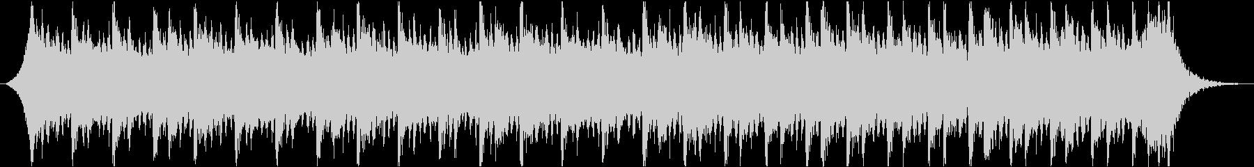 感動壮大ポジティブオーケストラエピックbの未再生の波形