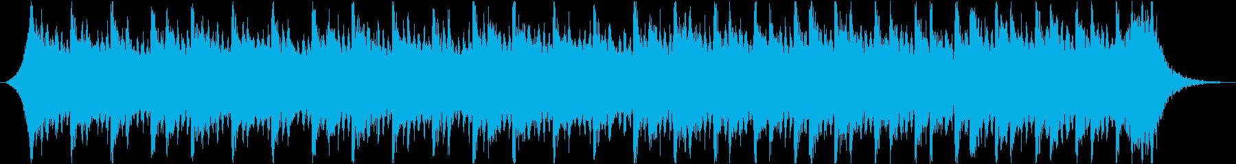 感動壮大ポジティブオーケストラエピックbの再生済みの波形