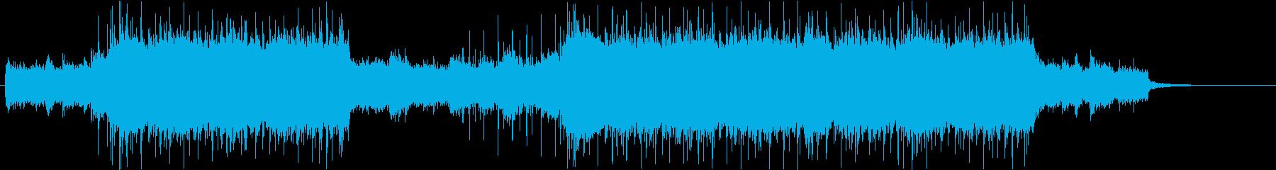 戦闘シーン(レイドボス)の再生済みの波形