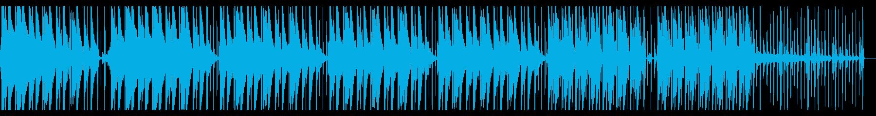 クール 無機質 渋めのテクスチャーの再生済みの波形