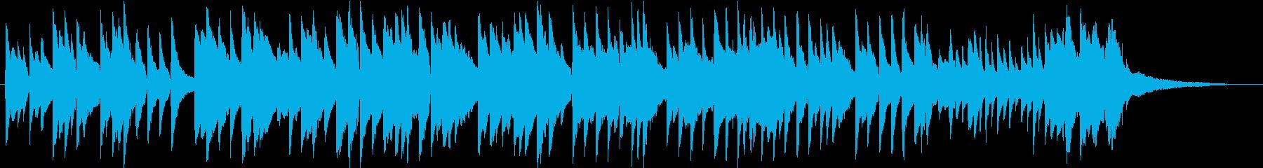 「七夕さま」をロマンチックなピアノソロでの再生済みの波形