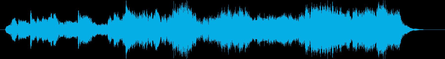 二胡の映える儚いアジアンテイストの曲の再生済みの波形