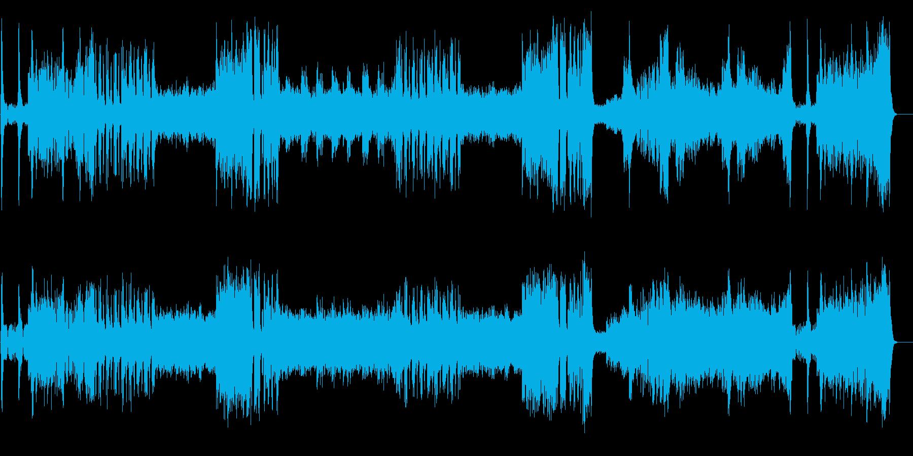 映画音楽風(ワイド・スケール!)の再生済みの波形
