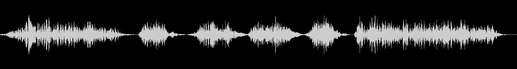 ワーハッハッハ2の未再生の波形