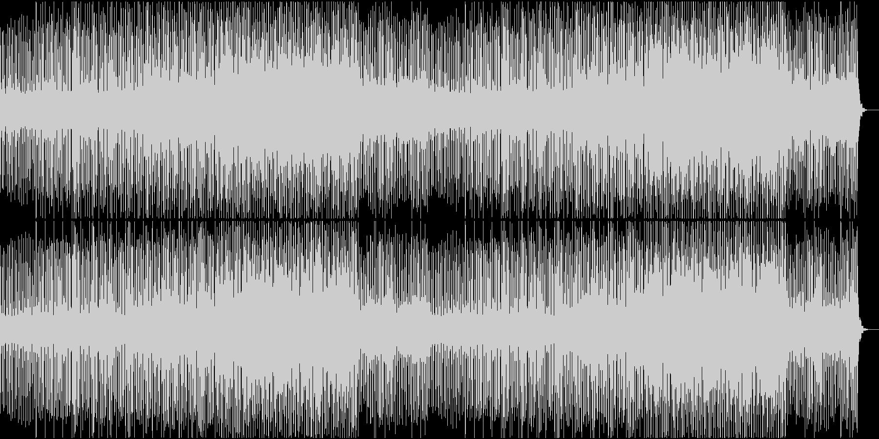 クールで落ち着いた印象のチュートリアル曲の未再生の波形