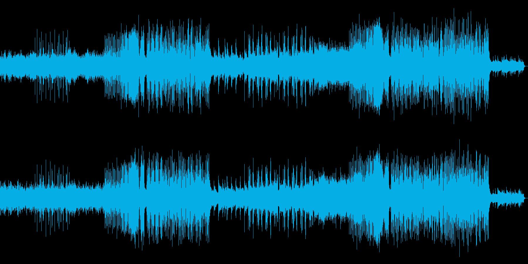 かわいいせつないFUTUREBASSの再生済みの波形