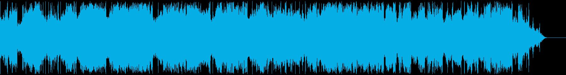 連続的な電気アーク、クローズアップ...の再生済みの波形