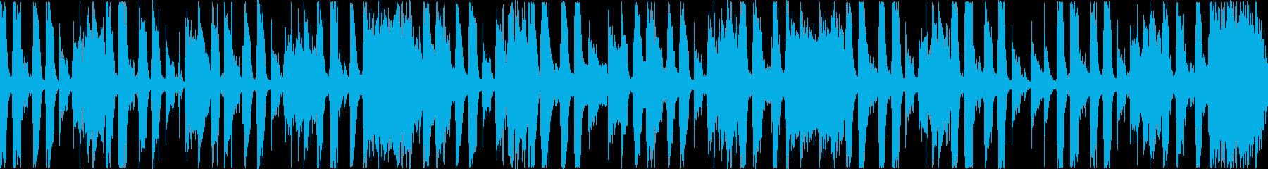 ぎこちないながらも軽やかさを感じるジャズの再生済みの波形
