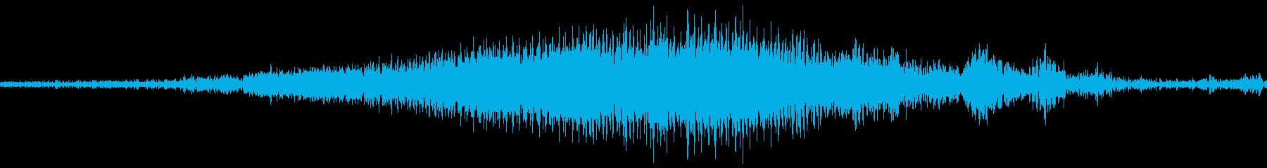 車のポンティアックパスhの再生済みの波形