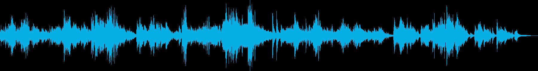美しき人生(ピアノ・エレガンス・喜び)の再生済みの波形
