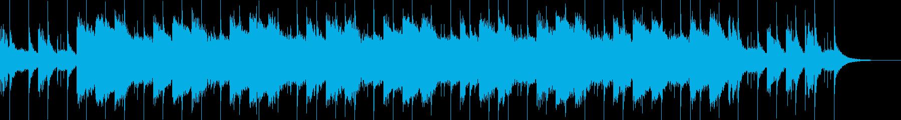 シンプルなチルアウトジングルですの再生済みの波形