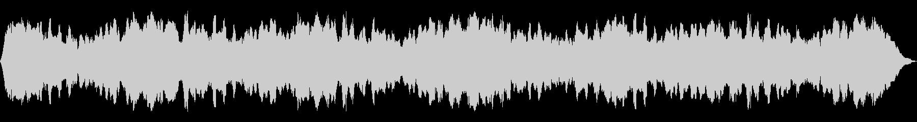ホロースイープメタリックドローン、...の未再生の波形