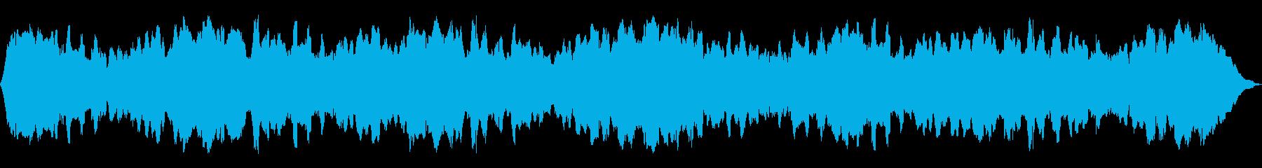 ホロースイープメタリックドローン、...の再生済みの波形