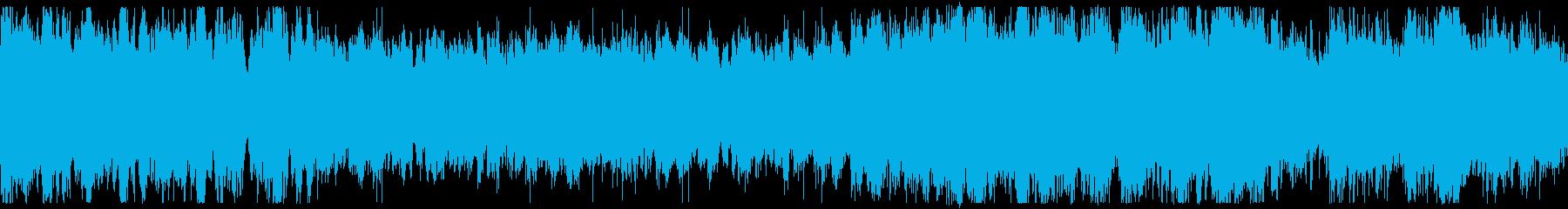 【壮大】チュートリアル、旅立ち風の再生済みの波形