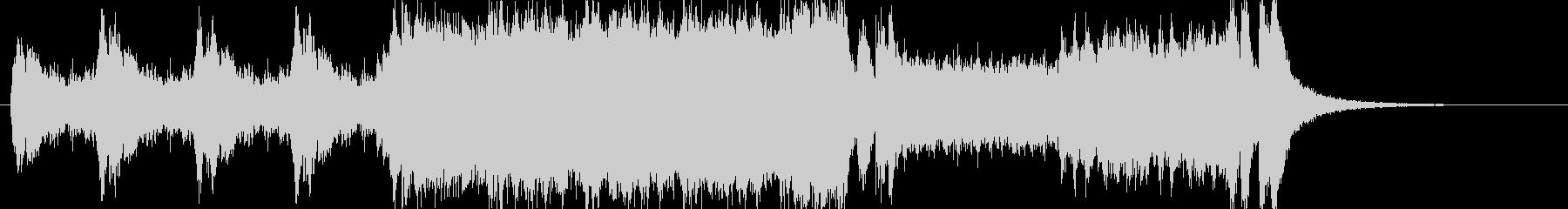 Opening Orchestraの未再生の波形
