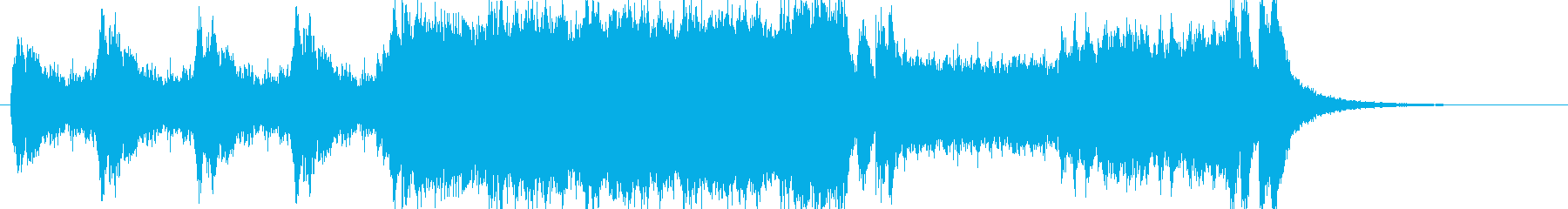 Opening Orchestraの再生済みの波形