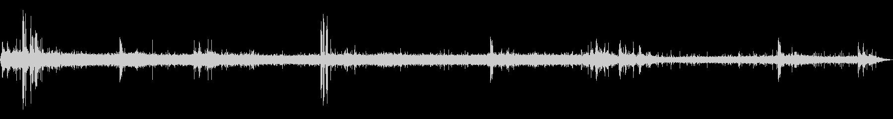 [生録音]雷雨(ゲリラ豪雨)の環境音01の未再生の波形