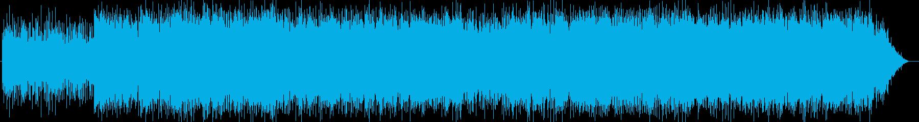主人公を引き立てるアーバンなシンセの再生済みの波形