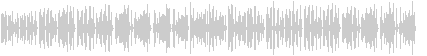 コミカル・日常・ほのぼの・マリンバの未再生の波形