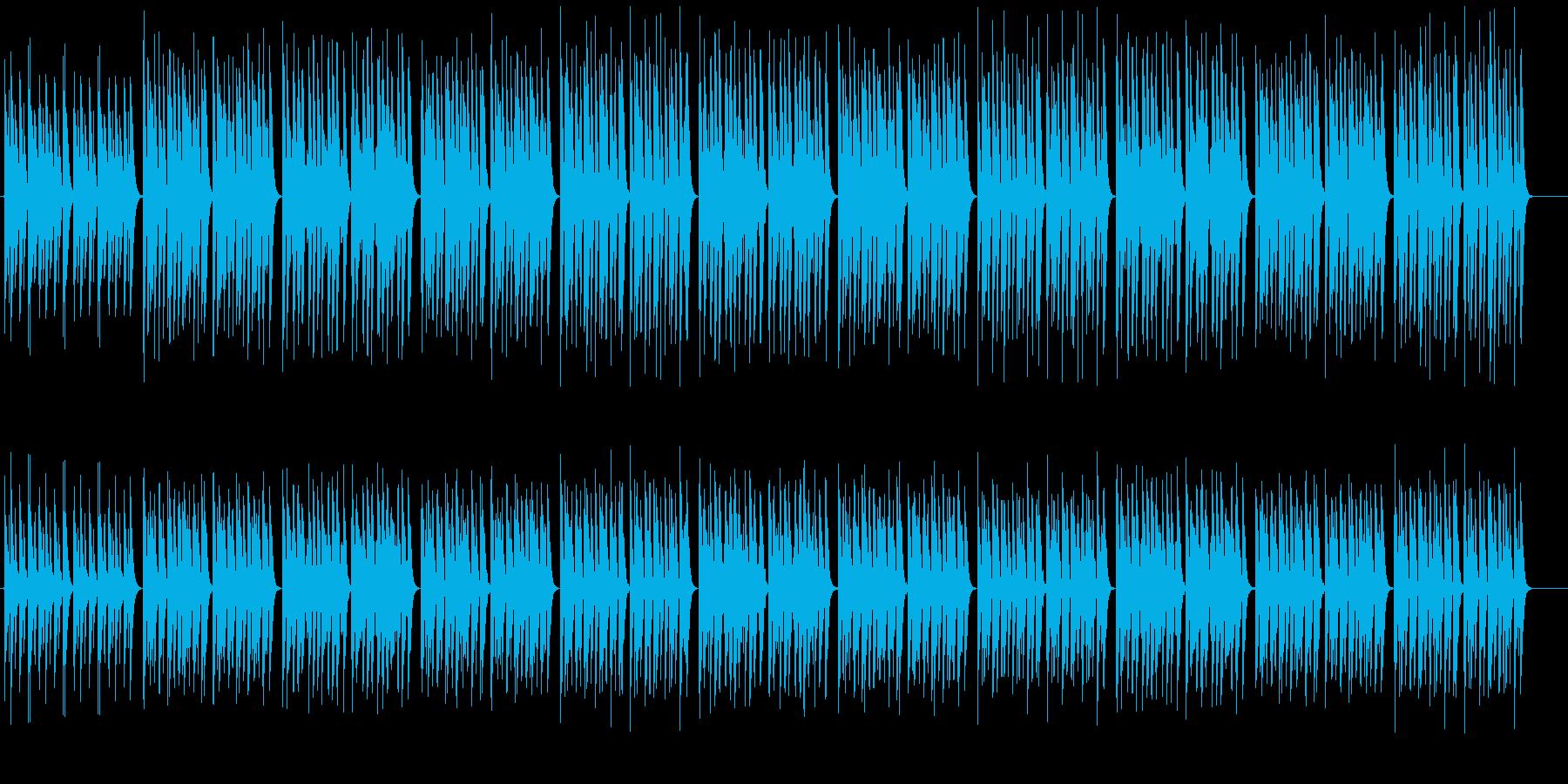 コミカル・日常・ほのぼの・マリンバの再生済みの波形